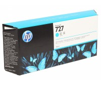 Картридж голубой F9J76A / HP 727 повышенной емкости для HP DesignJet T920 / T930 / T1500 / T1530 / T2500 / T2530 (300МЛ.) оригинальный