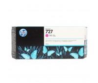 Картридж пурпурный F9J77A  / HP 727 повышенной емкости для HP DesignJet T920 / T930 / T1500 / T1530 / T2500 / T2530 (300МЛ.) оригинальный