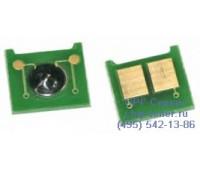 Чип желтого картриджа HP Color LaserJet CP3525n