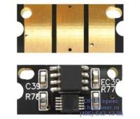 Чип желтого картриджа Konica Minolta Bizhub C452/C552/C652